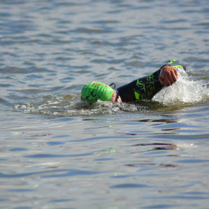 Marcus Långs simmar i Sun City Triathlon