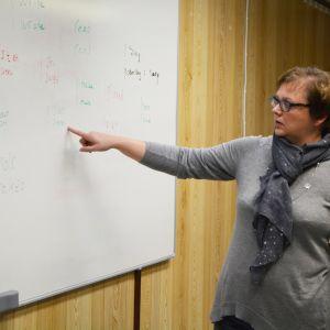 Lärare Tove Heinonen.