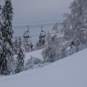 Tom skidlift i Vuokatti