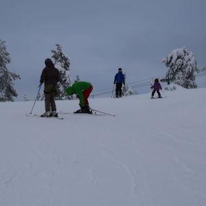 Slalomåkare i Vuokatti