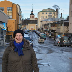 Linda Lindroos, verksamhetsledare för Citygruppen