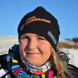 Linn Sjöberg, snowcrossförare.