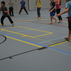 gymnastiksalen i Kiilan koulu