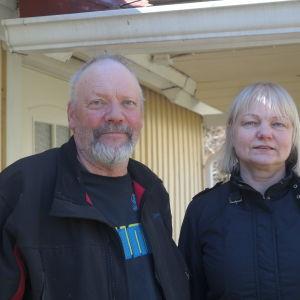 Göran Henriksson och Eija Lamsijärvi