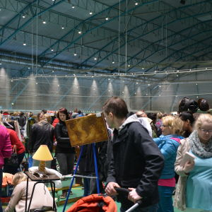 Megaloppis i Botniahallen
