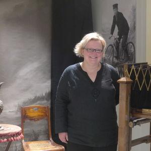 Museichef Anne Sjöström