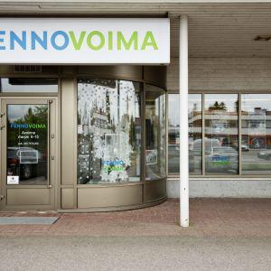 fennovoimas kontor i Pyhäjoki.