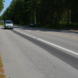 Vårbergavägen i Borgå.