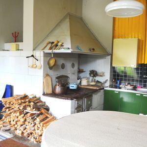 Köket på Stensböle gård.