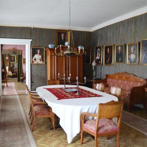 Matsalen på Stensböle gård.