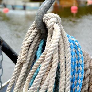 Ombord på m/s Fredrika i Borgå