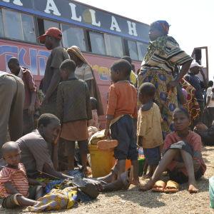 Burundiska flyktingar i Tanzania