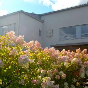 Sockengården i Sibbo och blommor i september