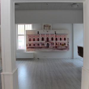 """Utställningen """"Tillfällig"""" i Almska gården i Lovisa."""
