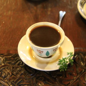 En kopp kaffe i Etiopien