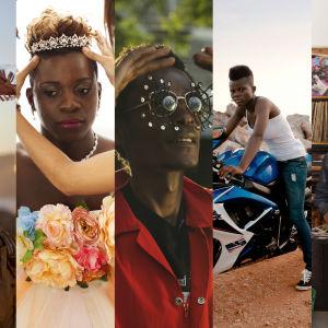 Kuvakollaasi sarjasta Uusi Afrikka