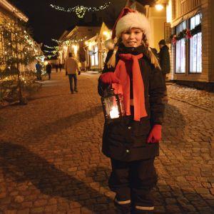 Tomte på Mellangatan i Borgå.