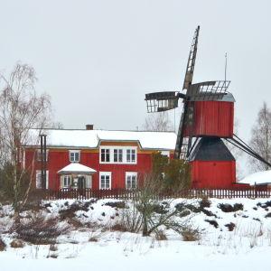 Gården Åppsto i Västerhankmo, Korsholm.