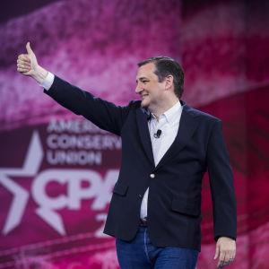 Ted Cruz håller tal i Maryland den 4 mars 2016.