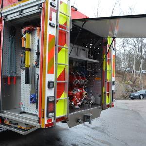 Räddningsverkets bil