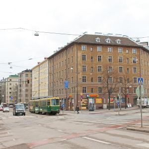nordenskiöldsgatans och mannerheimvägens korsning