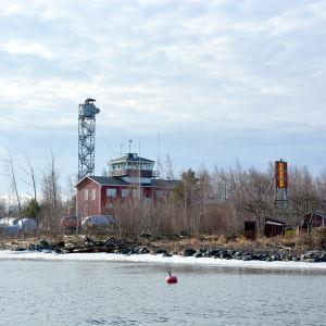 Valsörarnas sjöbevakningsstation.