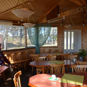 Sandbacka föreningshus i Kårlax