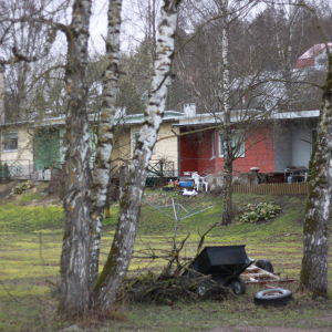 Äldre radhus i Munkviken