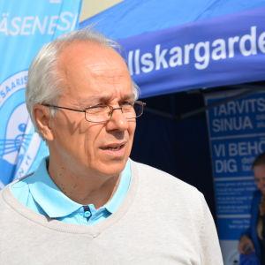 Petri Huovila på Pargasdagarna 2016