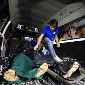 Misstänkta knarklangare dödade i polisoperation i Manila