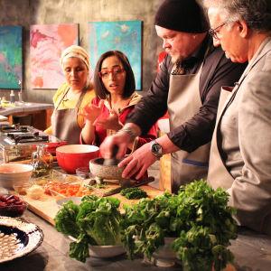 Villen keittiö - Marokko