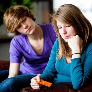 Par fundwerar över att ta akut P-piller