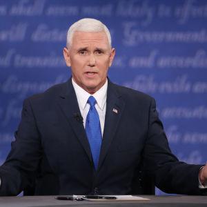 Republikanernas vicepresidentkandidat Mike Pence