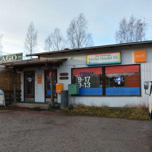 Björkö handel i Houtskär.