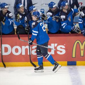 Julius Nättinen leder Finlands första kedja i JVM i Kanada.