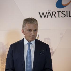 Wärtsilän Konsernijohtaja Jaakko Eskola
