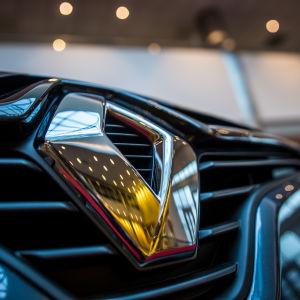Bilmärket Renault.