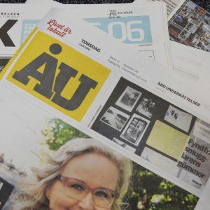 Bild på tidningen Åbo underrättelser