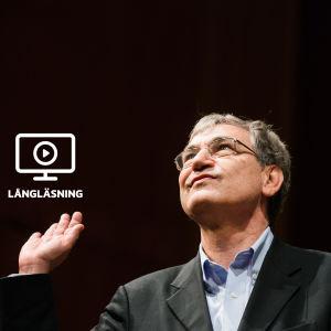 Den turkiska nobelpristagaren i litteratur Orhan Pamuk