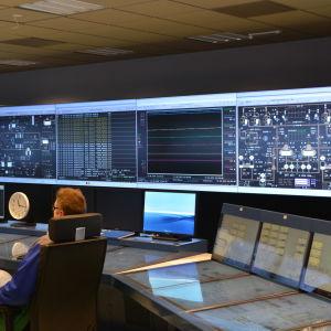 Simulatorn vid Lovisa kärnkraftverk