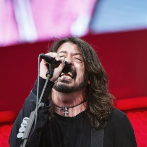 Foo Fighters spelar på Rock the Beach i Helsingfors 19.6 2017.