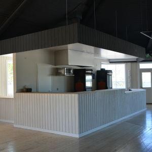 cafeterian i åminne paviljong i malax