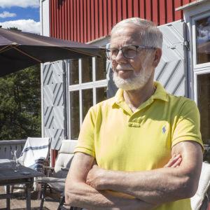Eläkkeellä oleva lainsäädäntöneuvos Sten Palmgren