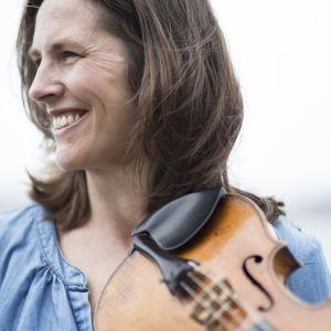 Violinisten Cecilia Zilliacus.