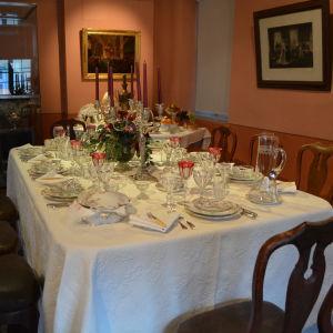 Julbordet i Borgå museum