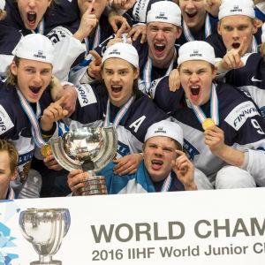 Finland åker till VM i Kanada som regerande världsmästare