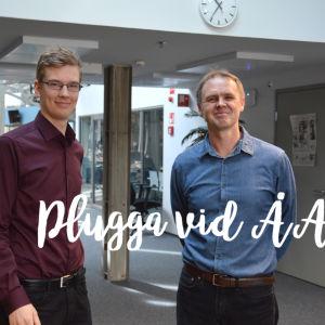 Miro Eklund och Jerker Björkqvist