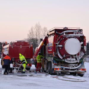 Vattenpost för dricksvatten i Borgå 04.01.17