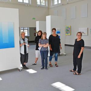 Fem konstnärer vid ArtSibbe 17