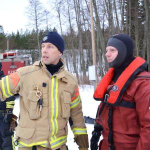 Räddningsverket i östra nyland planerar någonting